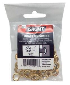 2x Grunt BRASS GROMMETS 50Pcs Webbing Accessory *Aust Brand- 5mm, 8mm Or 12mm