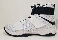 Nike Lebron Soldier X 10 Mens Basketball Shoes White Black Size 17