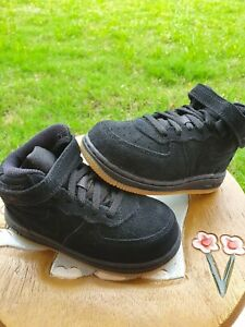 "Nike Air Force 1 LV8 Mid ""Black Gum"" Boys' BRAND NEW Toddler 8C"