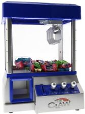 The Claw Toy As Seen On TV Candy Grabber Machine Electronic Arcade Machine Blue