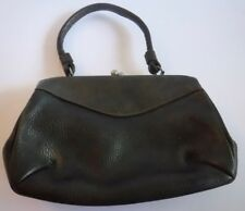 Vintage Letisse Handbag Purse Pocketbook Brown Leather One Handle Retro