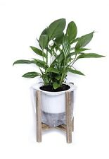Designer Flower Pot With Stand Modern Planter Self Watering