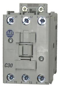 Allen Bradley 100-C30KJ00 30 AMP 3 Pole Contactor with a 24 volt AC coil