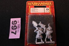 Warhammer Beastmen Pestigors x2 Nurgle Metal Games Workshop OOP New GW S4T3