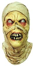 Halloween EVIL MUMMY Adult Latex Deluxe Mask Haunted House Bump In The Night