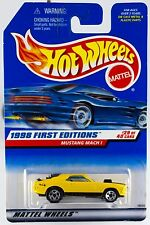 Hot Wheels 1998 First Editions #29 Mustang Mach I #670 New On Card