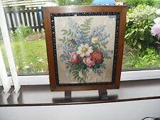 Vidrio Vintage material protegido fuego de madera Tamaño de pantalla 56.8 X 45.4 Cm