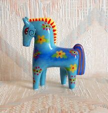 Horse Figurine Laurel Burch FLORAL HORSE New Ceramic Figurine Statue