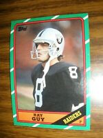 1986  Topps #69  Ray Guy  Oakland Raiders  NrMt