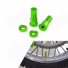CNC Rim Lock Nuts Washers For Kawasaki KX KXF KDX KLX KFX 80 90 125 200 250 450
