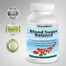Skinny Bean® BLOOD SUGAR BALANCE supplement. Control Glucose, insulin and Choles