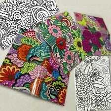 Set of 3 Adult Coloring Pocket Calendars, Includes ALL of 2019 - 2 FULL years