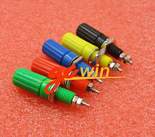 5set 5 Colors Binding Post Speaker 4mm Female Banana Plug Test Connector