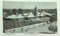 .SWAN HILL , HOSPITAL VICTORIA VINTAGE POSTCARD THE ROSE SERIES P 10973