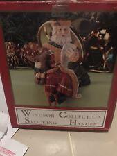VTG Windsor Collection Santa Stocking Holder In Original Box