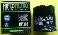 HONDA PC800 Pacific Coast (1989 TO 1998) HIFLOFILTRO Filtro Olio (HF303)