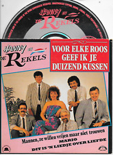 HANNY EN DE REKELS - Voor elke roos geef ik je.. CD SINGLE 4TR Cardsleeve 1989