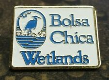 Bolsa Chica Wetlands pin badge