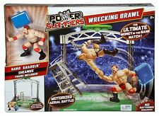 WRESTLING WWE RING POWER SLAMMERS WRECKING BRAWL - MONEY IN THE BANK MATCH