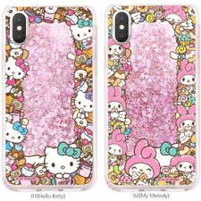 Genuine Hello kitty Friends Circle Glitter Case Galaxy S10/S10 Plus/Note 9 Case