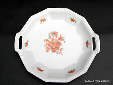 """MONTICELLO ORANGE by ROSENTHAL MARIA ~ 12"""" HANDLED CAKE PLATE (s)"""
