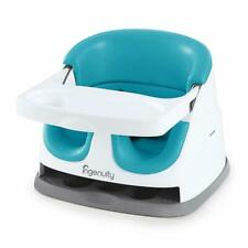 Ingenuity 110235 Baby Base 2-in-1 Booster High Seat - Peacock Blue