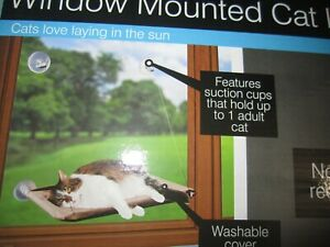 Window Mounted Cat Lounge Seat