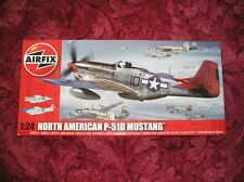 AIRFIX A14001A North American P-51D Mustang 1:24 AIRCRAFT MODEL KIT