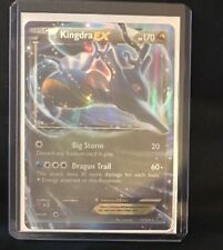 Pokemon Basic Kingdra EX Card 73/124