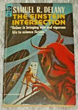 Samuel R. Delany, THE EINSTEIN INTERSECTION, Vintage 1960's SF PB Novel