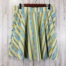 Jantzen Swim Cover L Multi-Colored Circle Tie Skirt Swimmers Print