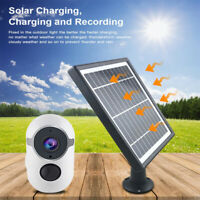 1080P IP Solor-power Wire Free WIFI Security Camera Rechargeable Battery Outdoor