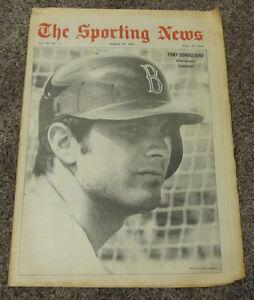 March 29, 1969 The Sporting News Boston Red Sox Tony Conigliaro MLB Baseball