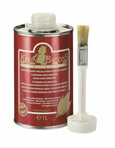 Kevin Bacon's Liquid Hoof Dressing with Application Brush - 500ml, 1Litre