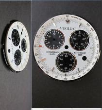 quadrante crono veglia miyota 3510 3s10 chronograph dial watch zifferblatt 30,5