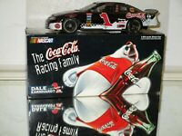 1998 Dale Jr #1 Coca Cola Polar Bear AUTOGRAPHED 1/24 car AWESOME Must Have WOW