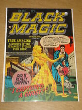 BLACK MAGIC VOL 2 #1 FR+ (1.5) CRESTWOOD COMICS JACK KIRBY NOVEMBER 1951