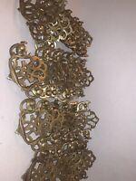 Antique Vintage Ornate Brass Dresser Furniture Drawer Pulls Lot Of 27