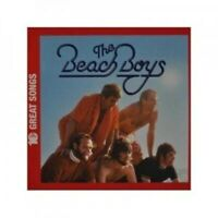THE BEACH BOYS - 10 GREAT SONGS  CD 10 TRACKS AMERICAN POP BEST OF NEU