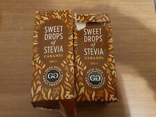 2 xgood Bon Sweet gouttes de stevia Caramel 50 ML zéro calories sucre de remplac...
