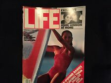 LIFE Magazine John Lennon Exclusive February 1981 Collectors Memorabilia YokoOno