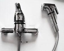 Musulmano Shattaf Bidet WC Lavaggio Rubinetto Rubinetto Bagno Doccia Tubo Spray per il bagno turco