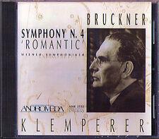 Otto KLEMPERER: BRUCKNER Symphony No.4 Romantic 1951 CD Wiener Symphoniker CD
