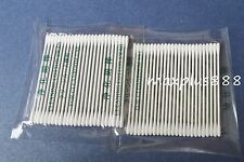 100 Mini Round Gun Tip Double Point Cleaning Cotton Swab for printer (15-002)