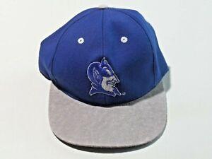 Duke University South Carolina Blue Devils Baseball Cap Suede Bill #1 Apparel