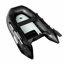 ALEKO Inflatable 3 Persons Water Fishing River Boat Raft Set with Oars Air Floor
