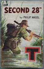 1961 1st EDITION BATTALION HISTORY WW2 THE SECOND 28th PHILIP MASEL DUST COVER.