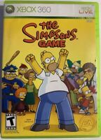 The Simpsons Game (Microsoft Xbox 360, 2007) No Manual