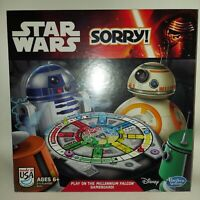 Star Wars Sorry Game W/Millennium Falcon Gameboard Factory Sealed