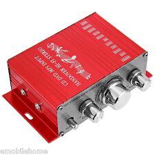 HY - 2001 Hi-Fi Mini Digital Motorcycle Auto Car Stereo Power Amplifier Sound Mo